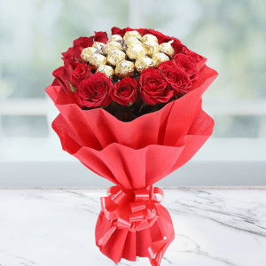 Delightful Rocher Bouquet