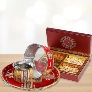 Dry Fruits Karwa Thali