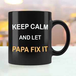 Let Papa Fix It Mug