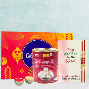 Rakhi Treat With Cadbury & Gulab Jamun