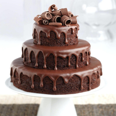 3 Tier Chocolate Cake