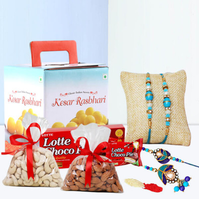 A Gift Hamper of Love for Bhaiya Bhabhi