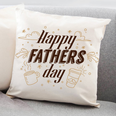 Happy Father's Day Cushion