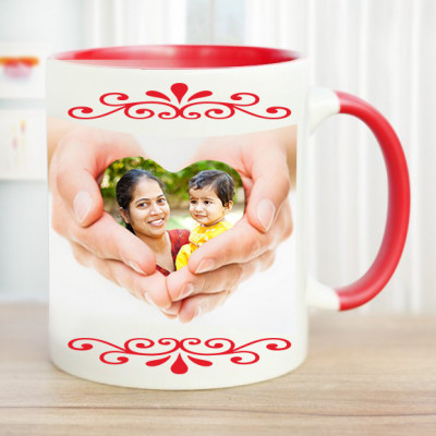 Mom is My World Personalized Mug