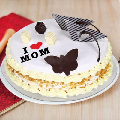 Mother's Day Butterscotch Cake