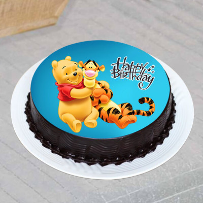 Pooh & Tiger Friendship Cake- 1 Kg