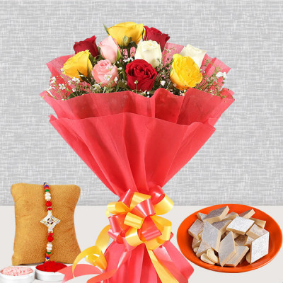 Sweetly Fresh Rakhi Hamper